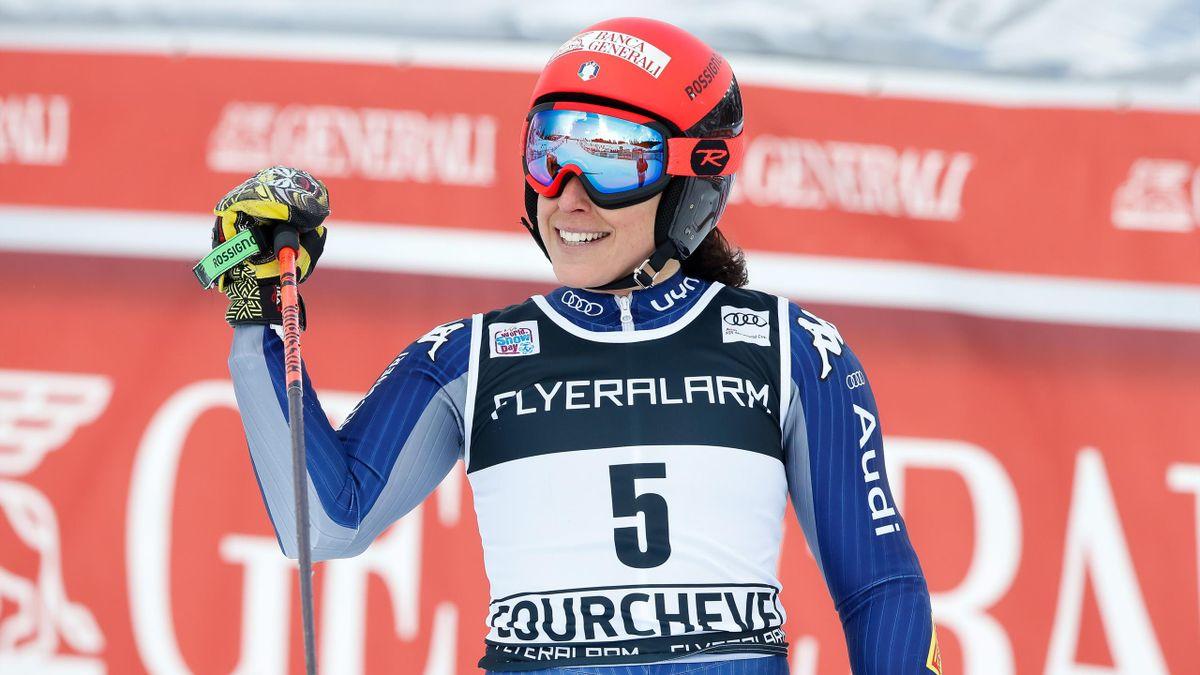 Federica Brignone trionfa a Courchevel - 2019
