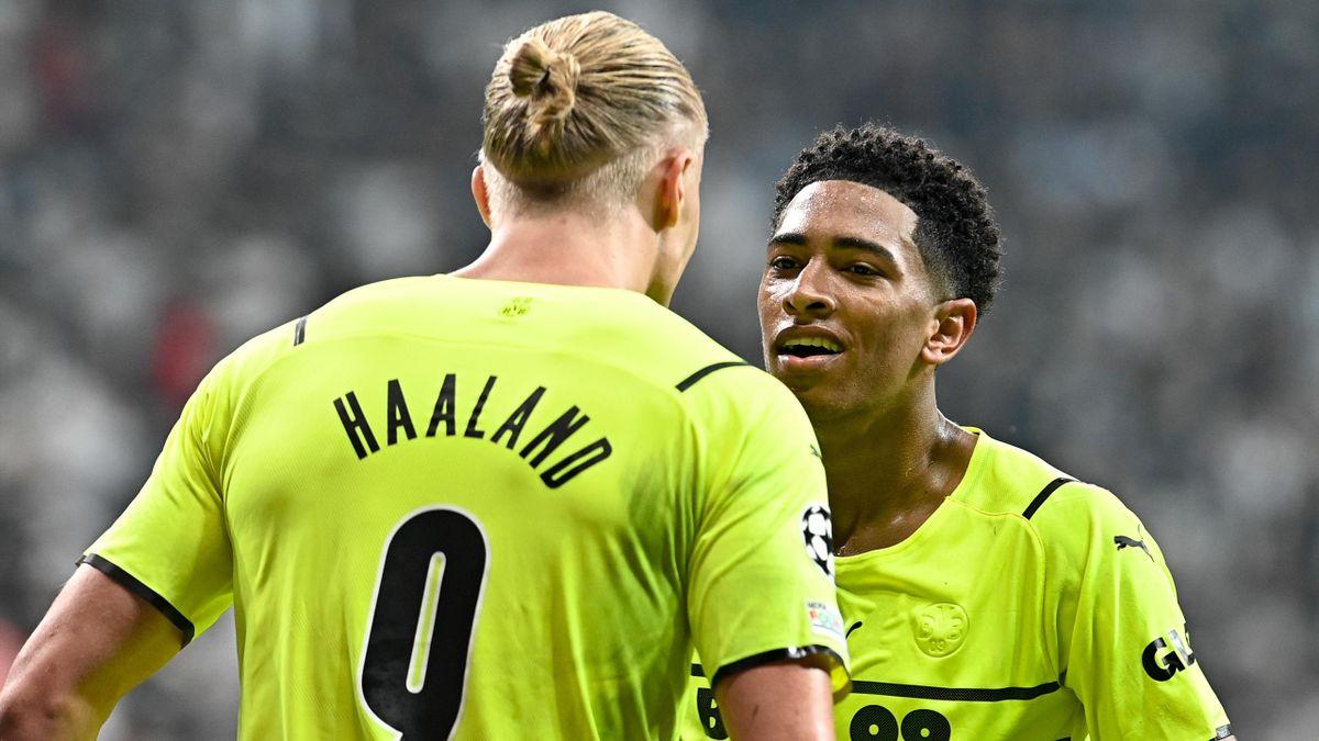 Erling Haaland et Jude Bellingham (Borussia Dortmund) - 15/09/2021