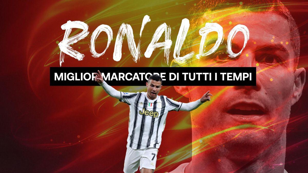 Ronaldo, miglior marcatore di tutti i tempi