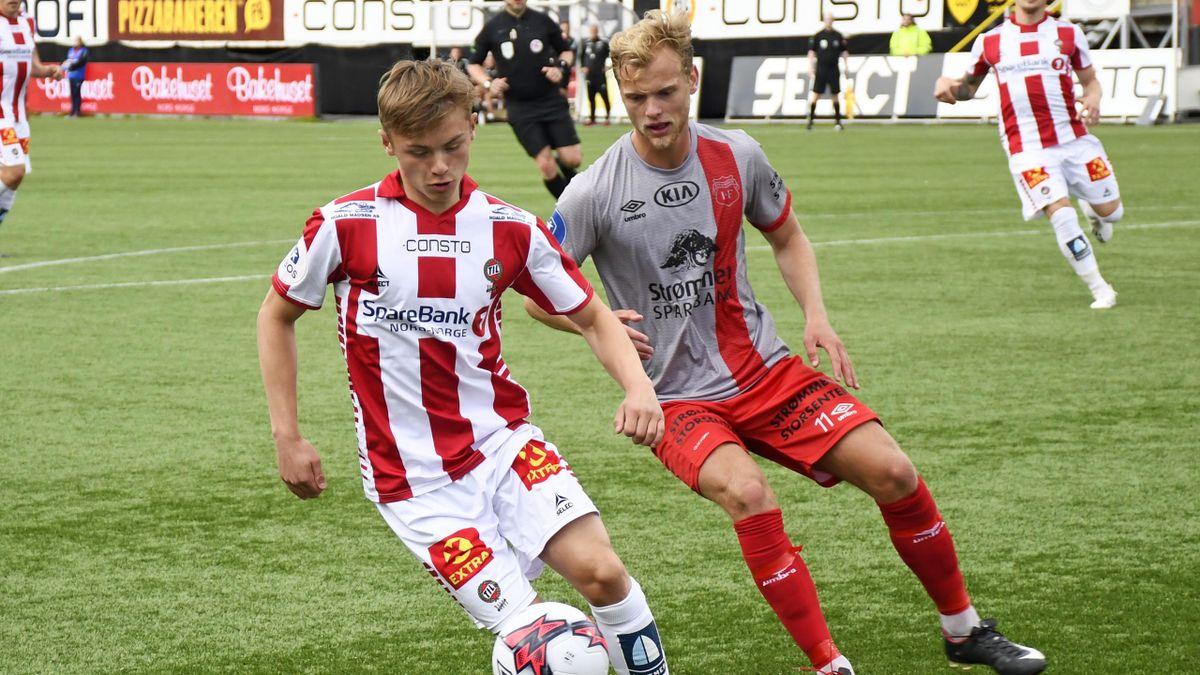 Isak Hansen-Aarøen og Morten Bjørlo i duelll