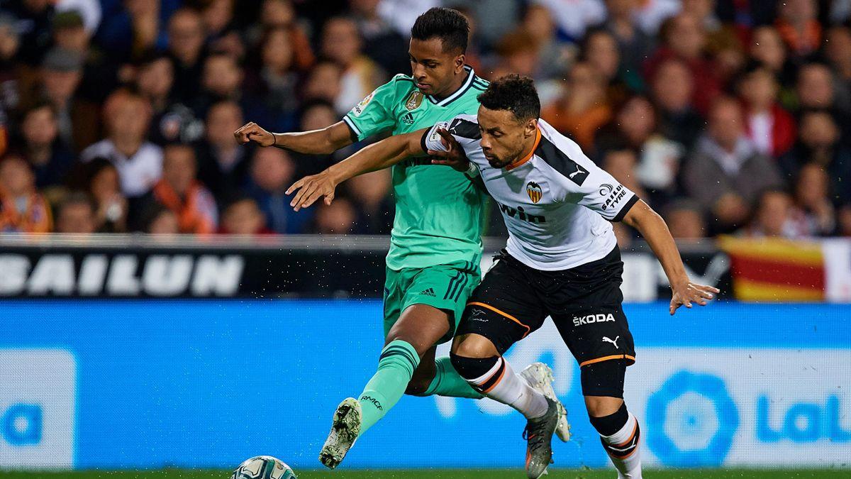 Real Madrid gegen FC Valencia