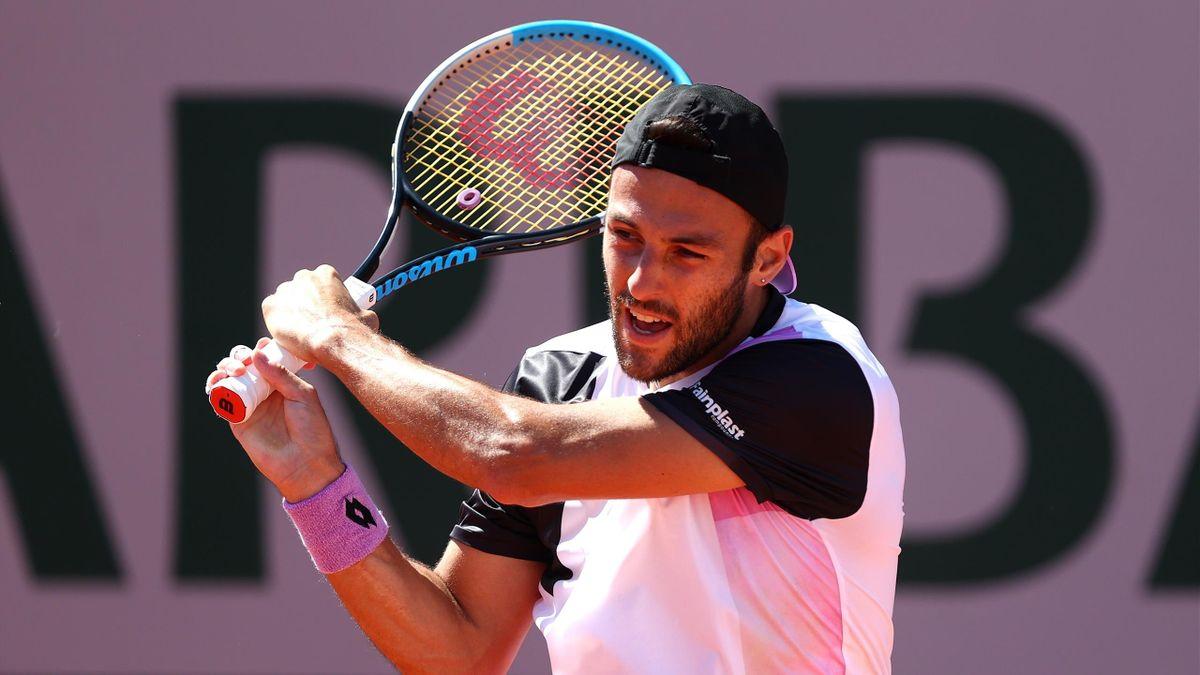 Stefano Travaglia al Roland Garros 2021