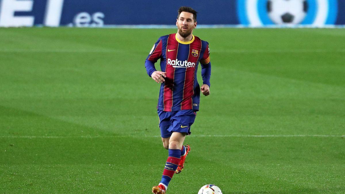 Lionel Messi knüpft eine Vertragsverlängerung beim FC Barcelona nach Eurosport-Informationen an Bedingungen