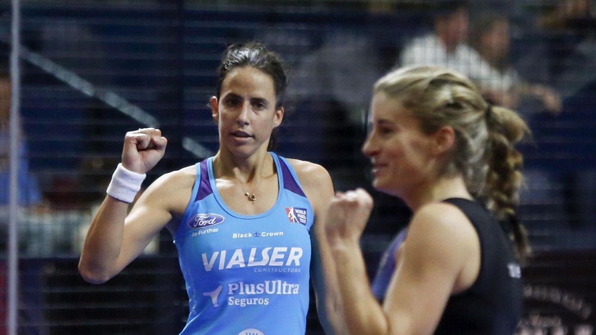 Marta Marrero y Alejandra Salazar (WPT)