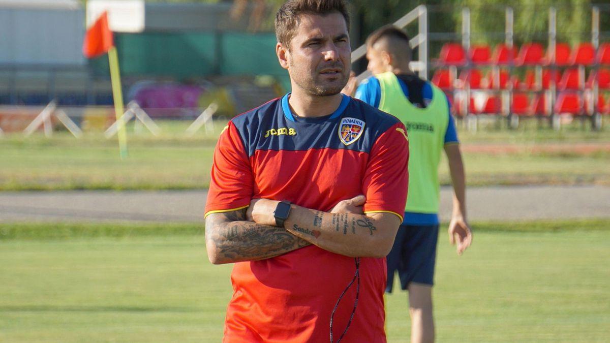 Adrian Mutu, selecționerul naționalei de tineret a României