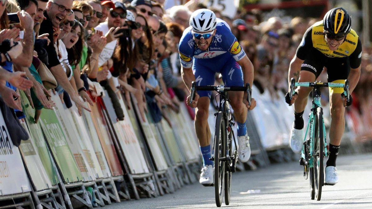 Julian Alaphilippe - Vuelta a Pais Vasco 2018 stage 1 - Imago pub only in ITAxGERxSUIxAUT