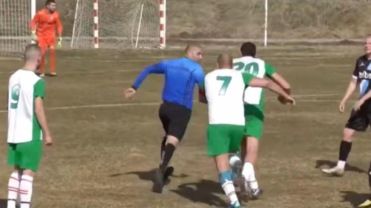 Погоня в Болгарии