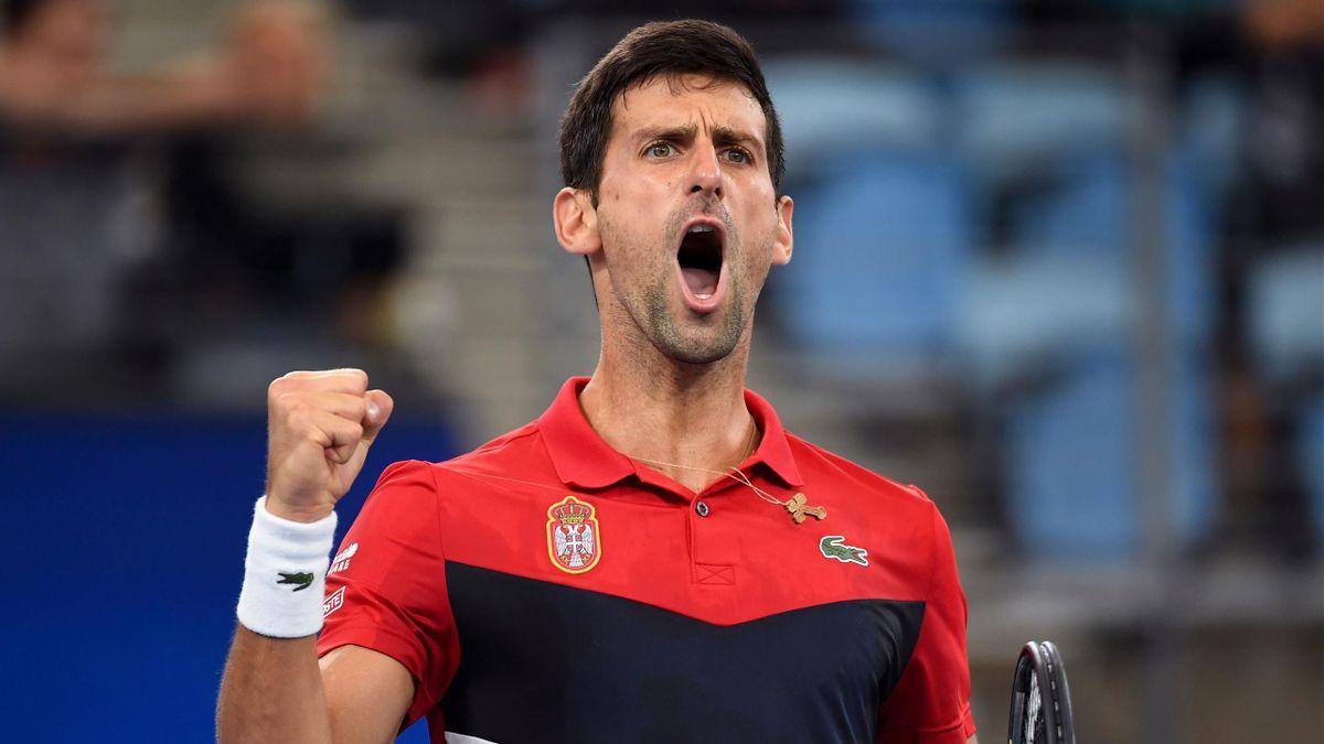 Djokovic tombeur de Medvedev en ATP Cup