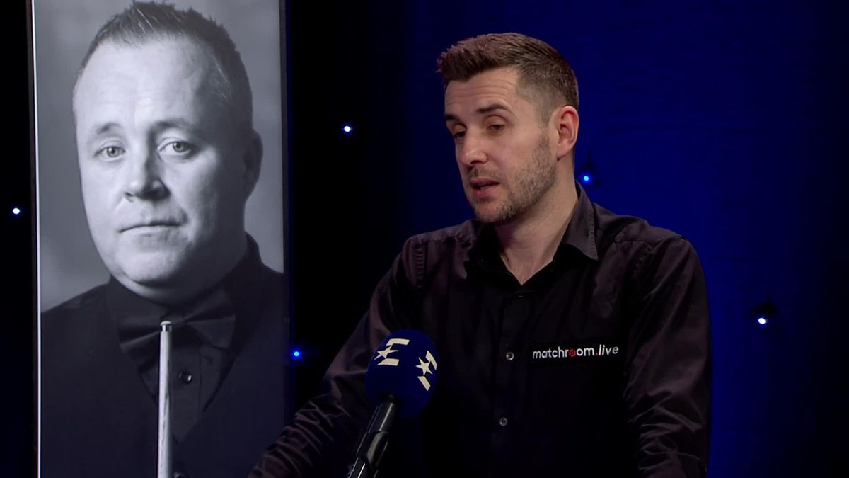 Snooker Scottish Open: Interview of Mark Selby in studio after his win over Nigel Bond