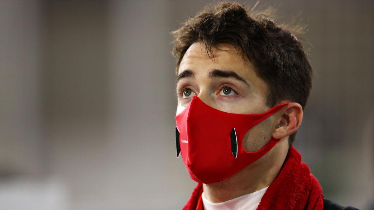 Charles Leclerc (Ferrari) lors du Grand Prix de Bahreïn