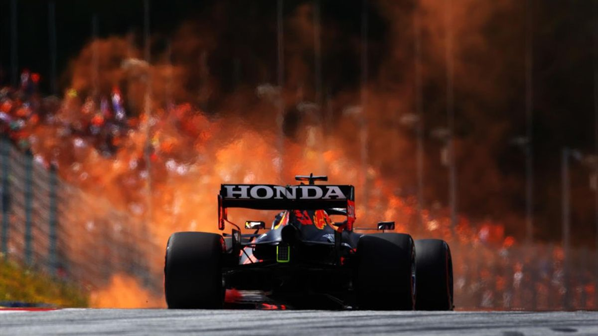 Max Verstappen (Red Bull) au Grand Prix d'Autriche 2021