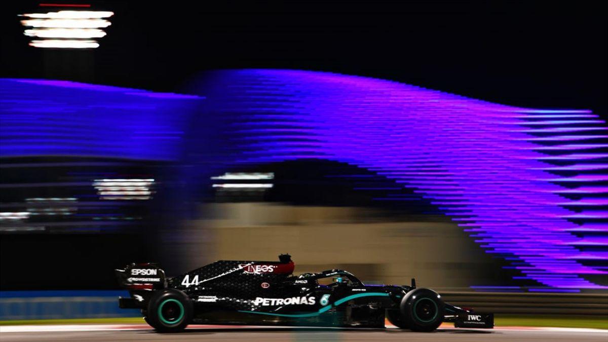 Lewis Hamilton (Mercedes) - GP of Abu Dhabi 2020