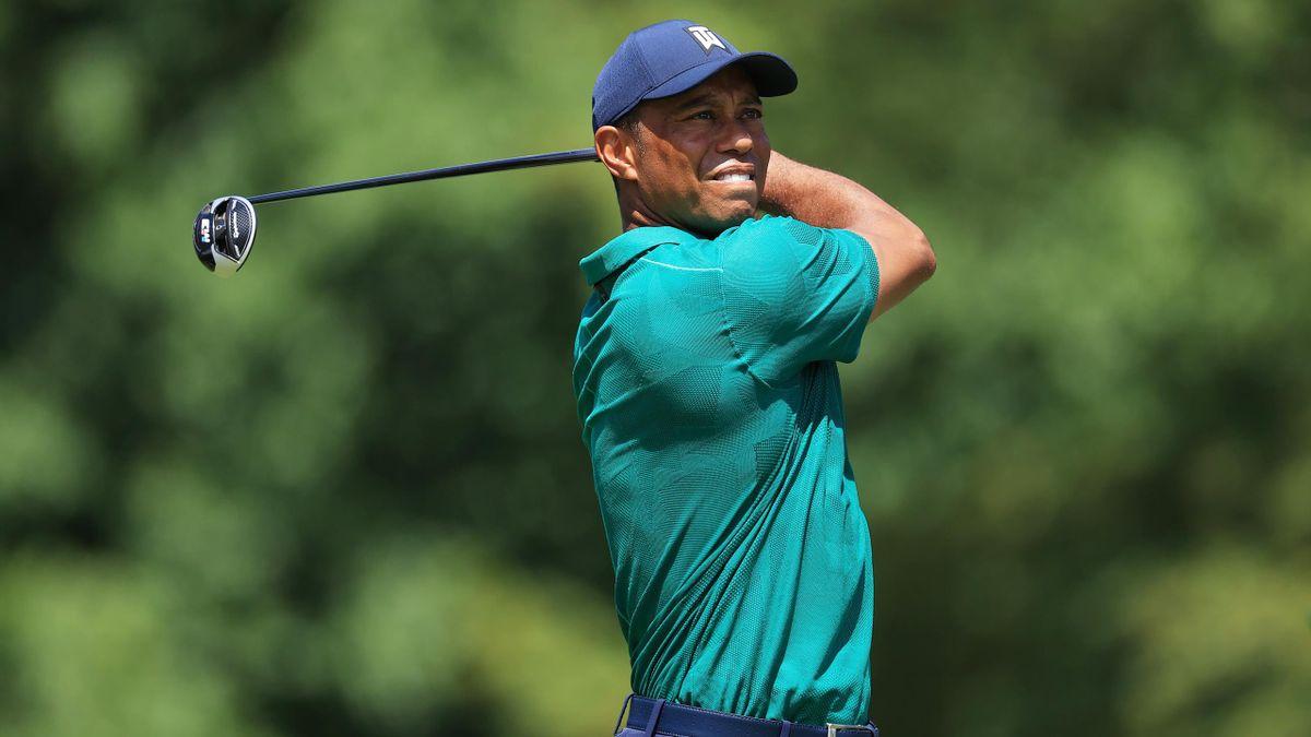 Memorial - Tiger Woods lors du troisième jour de compétition, samedi