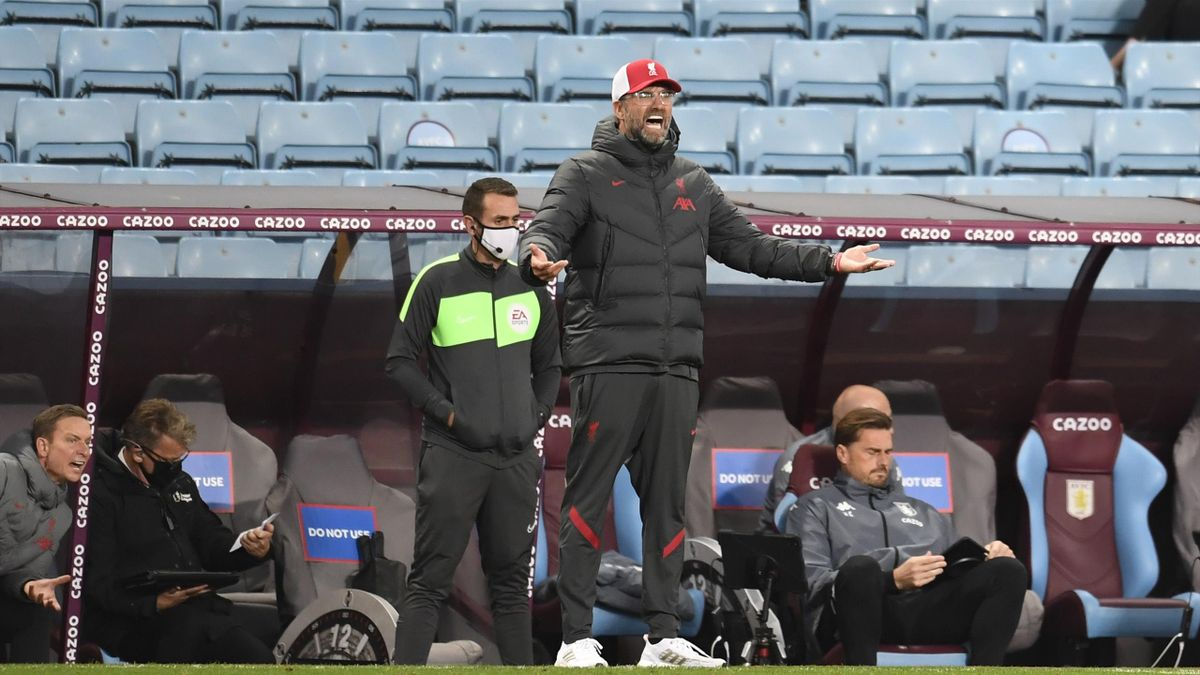 Jurgen Klopp Liverpool Lost The Plot In Humiliating Premier League Defeat To Aston Villa Eurosport