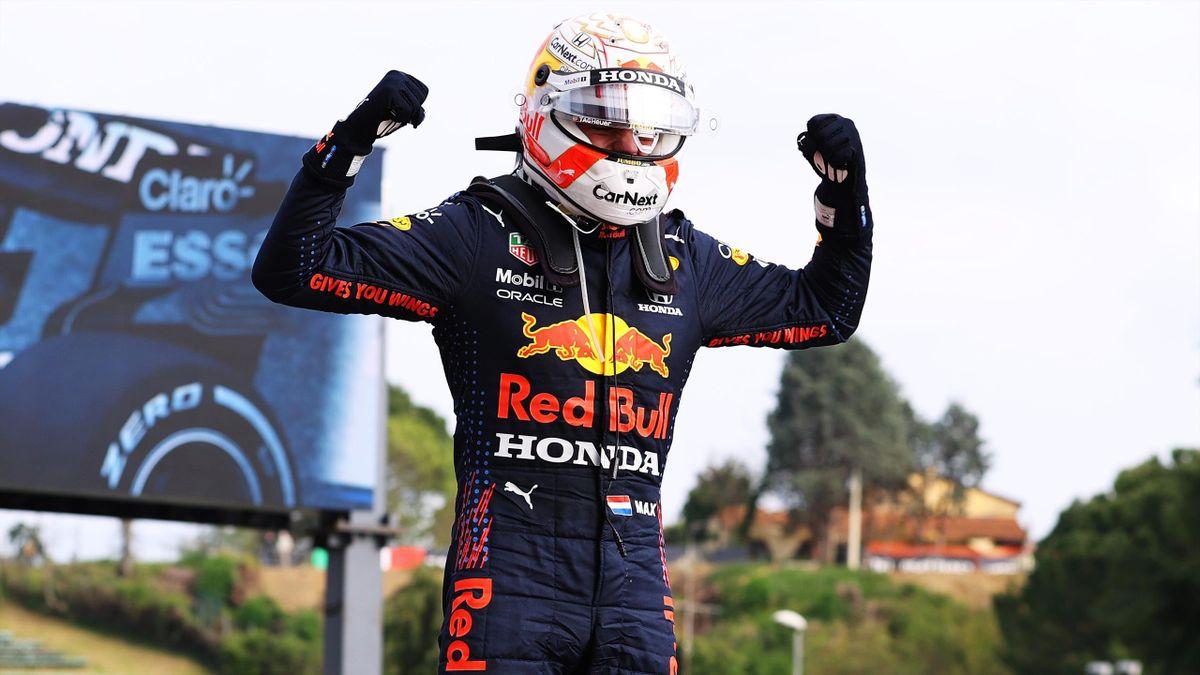 Max Verstappen (Red Bull) won the Grand Prix of Emilia Romagna in 2021 - Formula 1