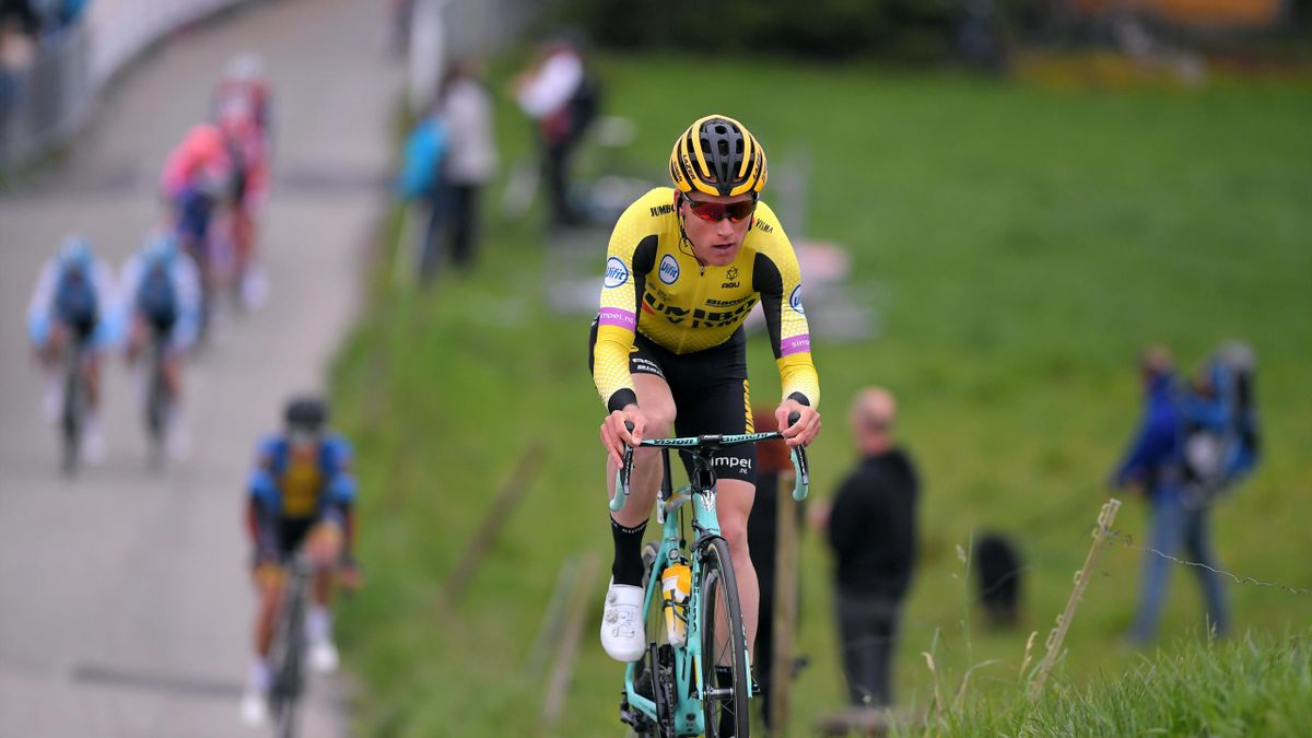 Mike Teunissen of The Netherlands and Team Jumbo - Visma / during the 3rd Velon Hammer Series 2019 - Hammer Climb a 85,6km stage from Stavanger to Stavanger 102m / #HammerSeries / @HammerSeries / @HammerStavanger / on May 24, 2019 in Stavanger, Norway