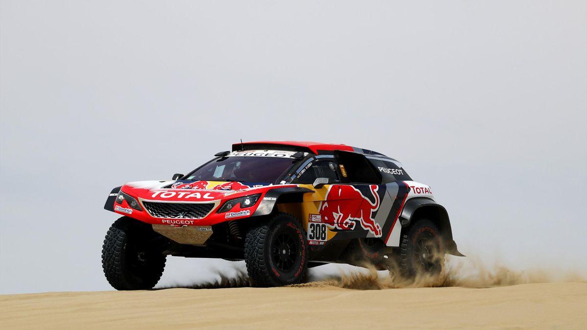 Cyril Despres (Peugeot) sur les routes du Dakar 2018