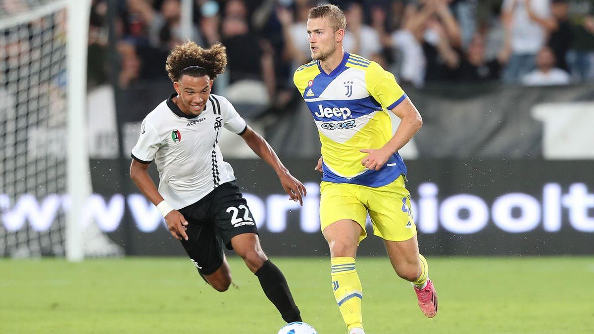 Matthijs De Ligt, Janis Antiste, Spezia-Juventus, Getty Images