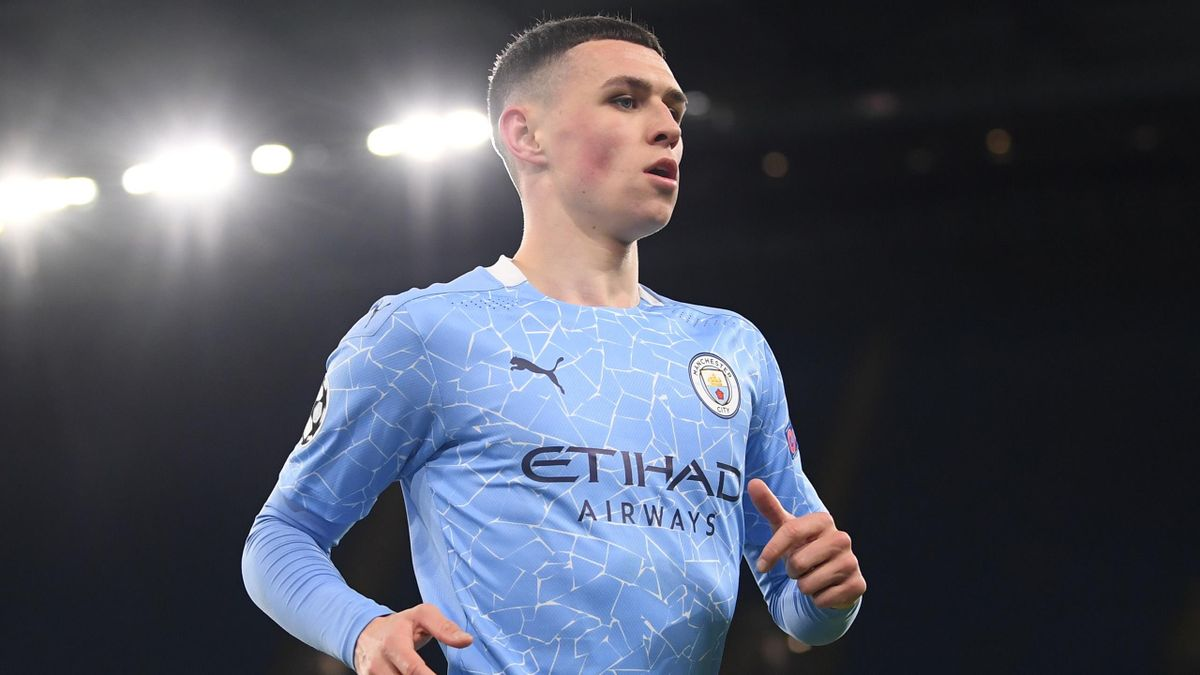Phil Foden scored the winner on the night as Man City beat Dortmund 2-1