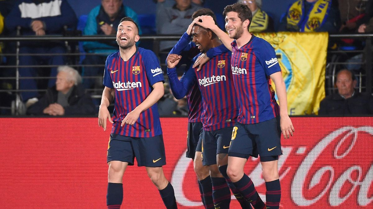 Villarreal-Barcelona (Malcolm, Jordi Alba și Sergi Roberto)