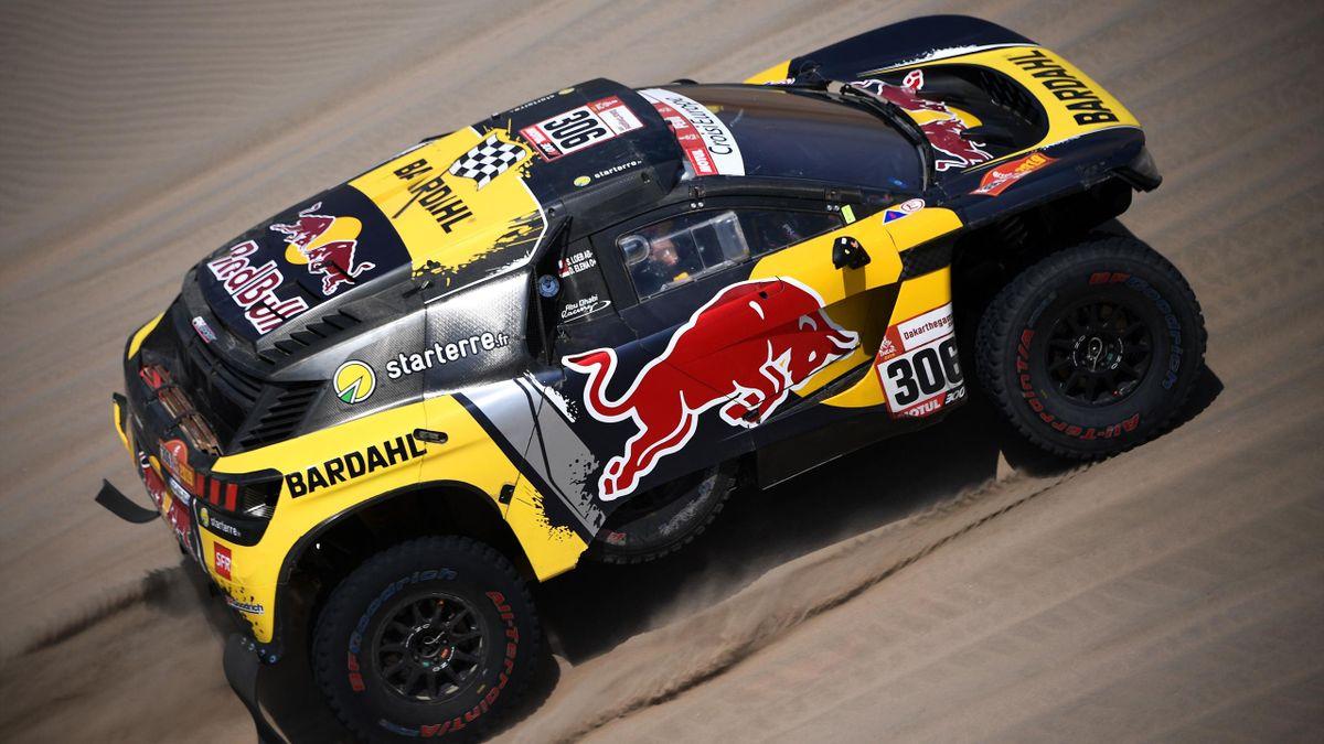 Sébastien Loeb lors de la 6e étape du Dakar 2019