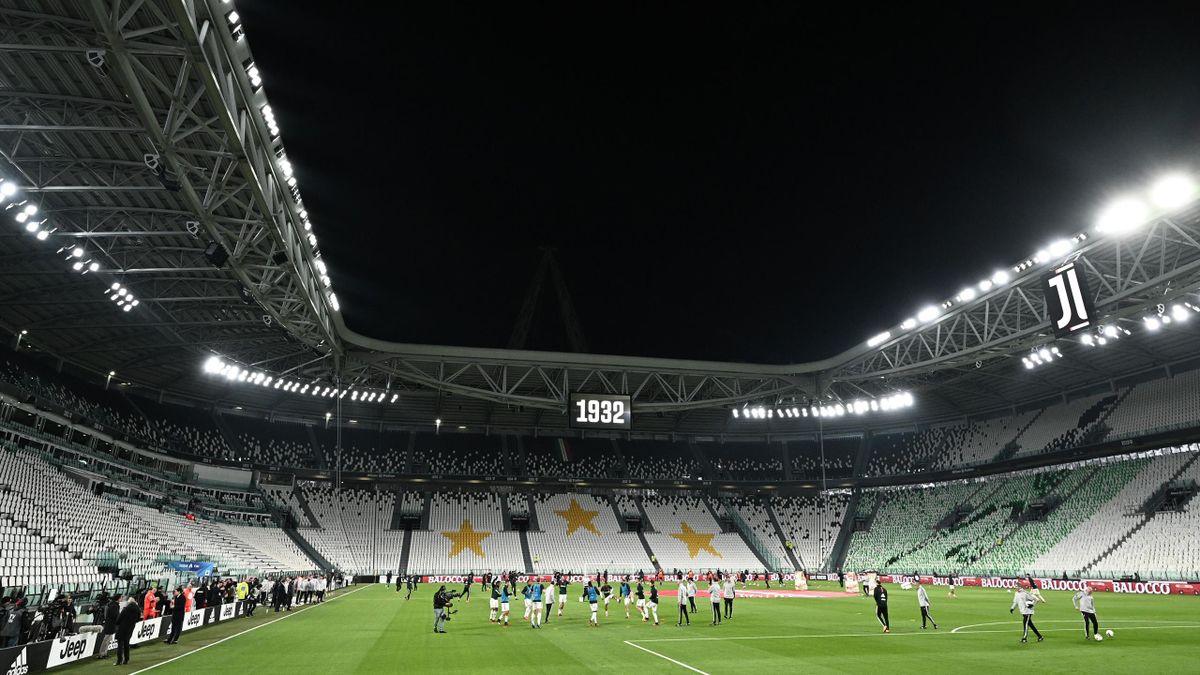 Juventus ia în calcul proiectarea unor holograme pe Allianz Stadium
