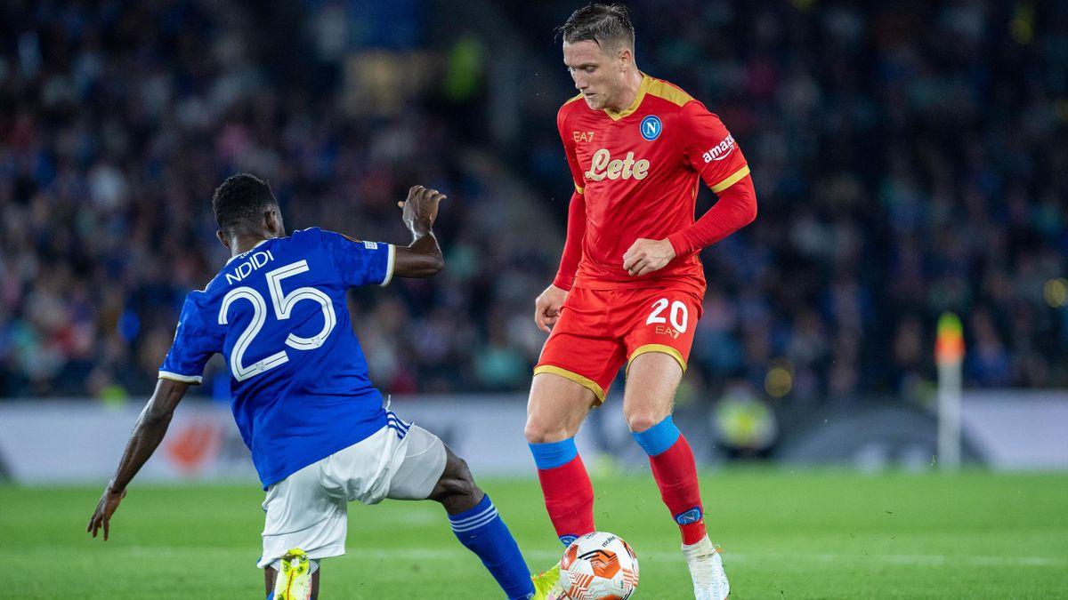 Zielinski contro Ndidi in Leicester-Napoli