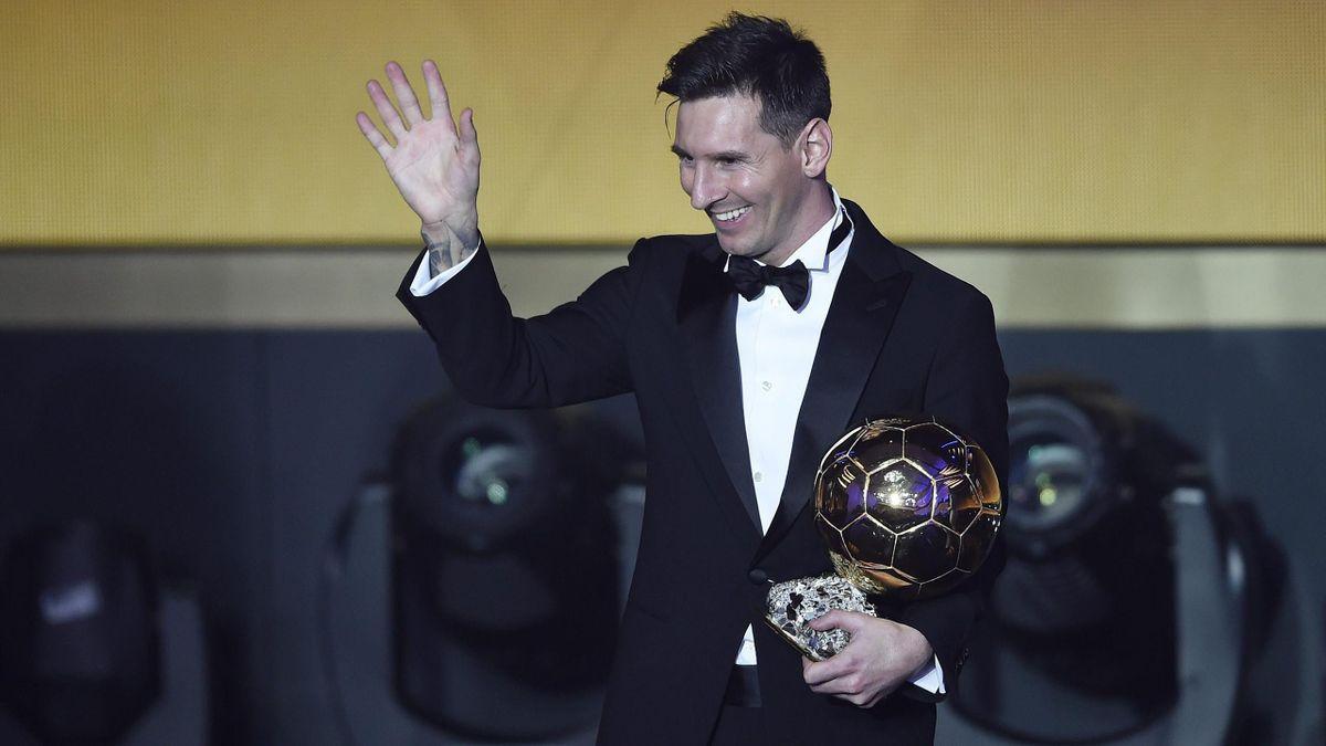 Leo Messi, con su quinto Balón de Oro