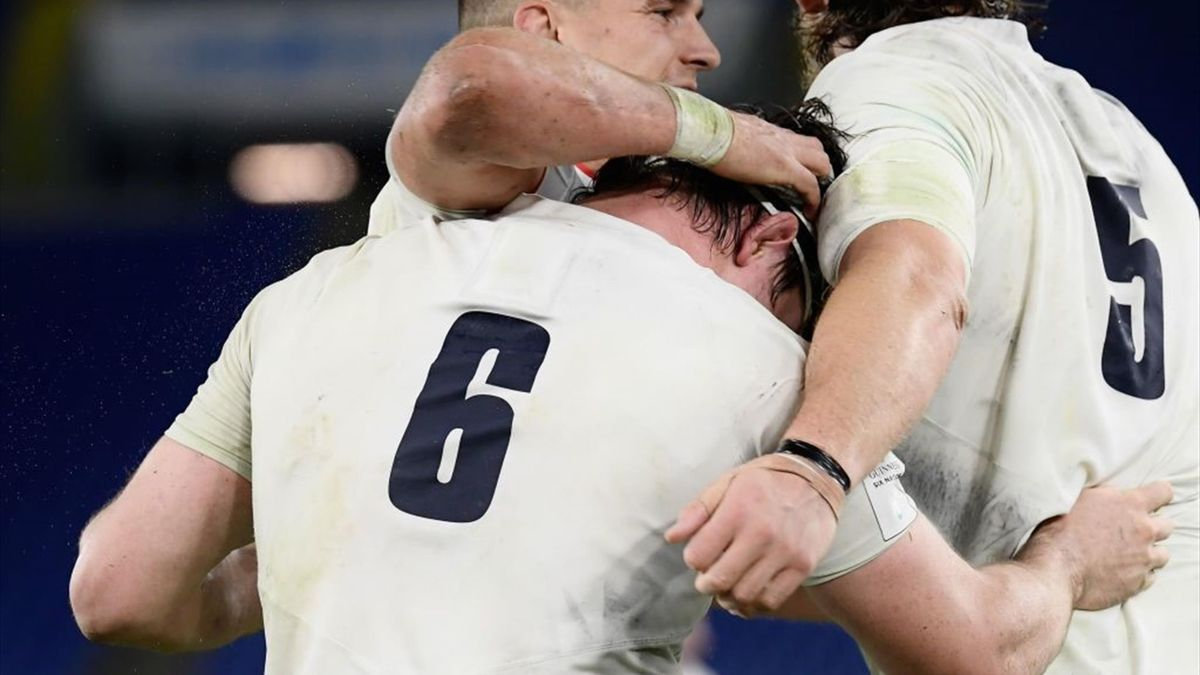 England claim Six Nations victory over Italy