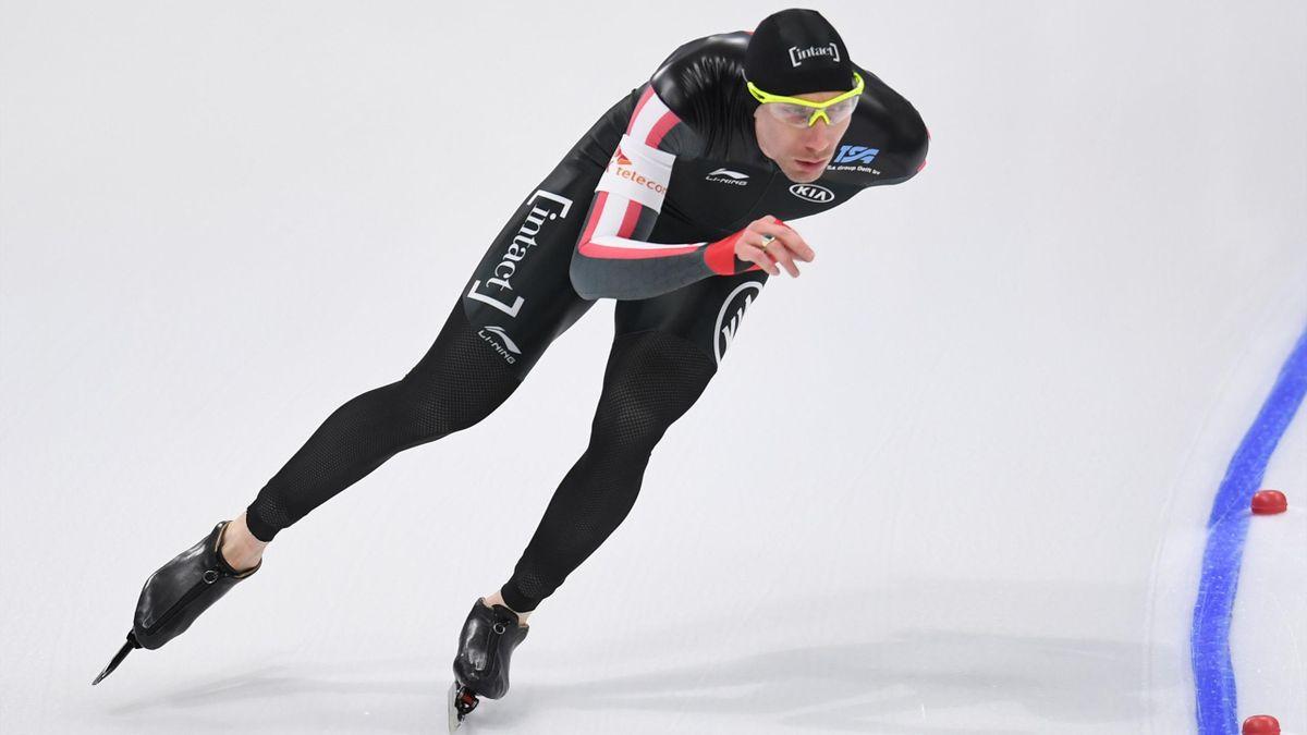 Ted-Jan Bloemen schaatst voor Canada zijn eerste Olympische Spelen