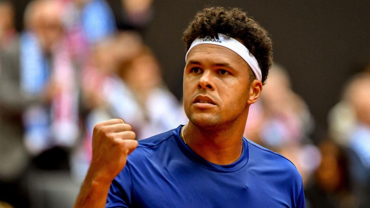 Jo-Wilfried Tsonga - France Coupe Davis 2017
