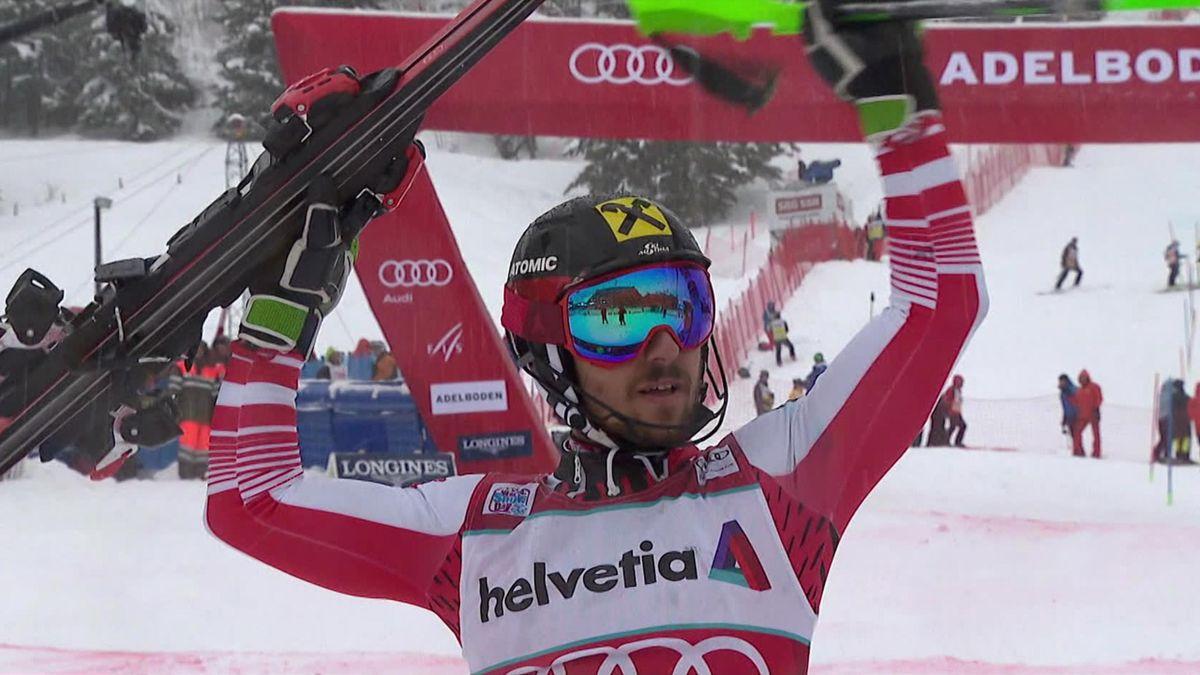 News alpine skiing Adelboden: Hirscher's victory