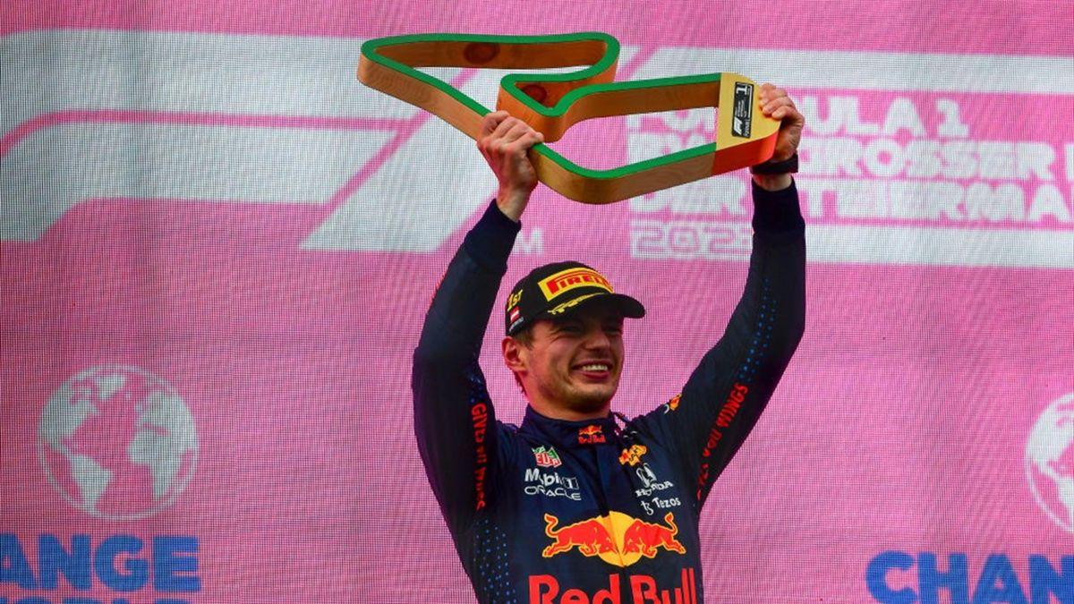 Max Verstappen festeggia la vittoria nel Gran Premio di Stiria - Mondiale 2021