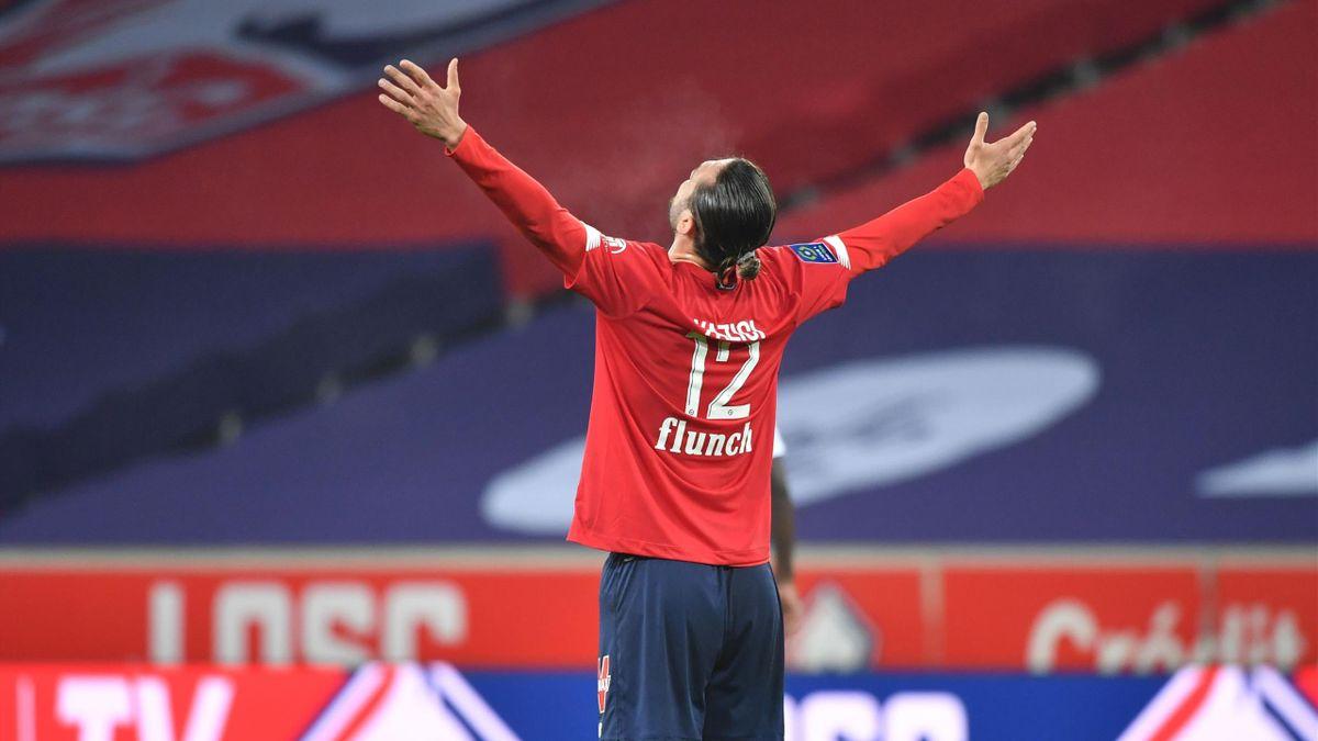 Yusuf Yazici (Lille) auteur d'un doublé contre Lorient en Ligue 1