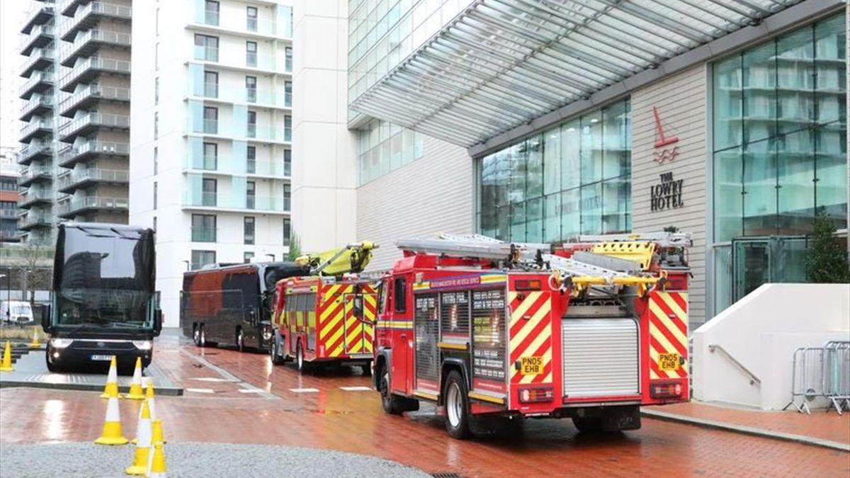 """Manchester United - Everton. Pompierii au intervenit de urgență la hotelul """"diavolilor"""""""