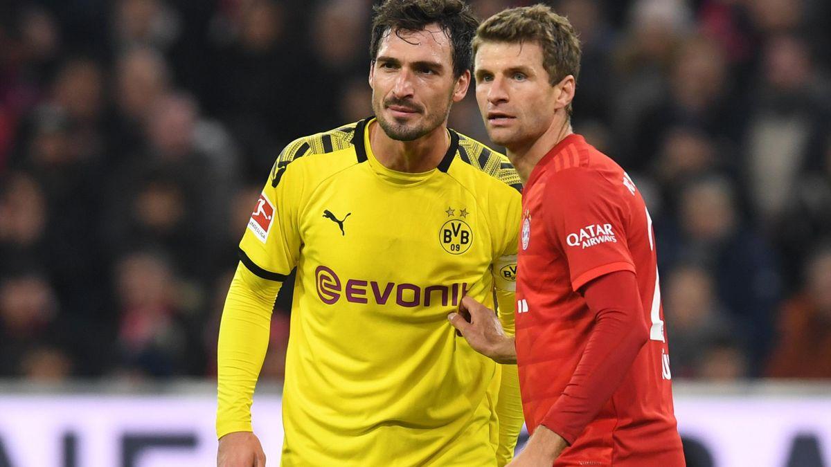 Mats Hummels (links) und Thomas Müller könnten bei Olympia dabei sein.