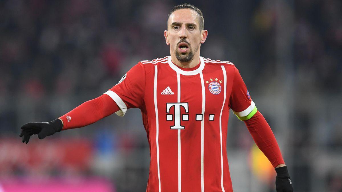 Franck Ribery zeigte sich erfreut über den Rekord