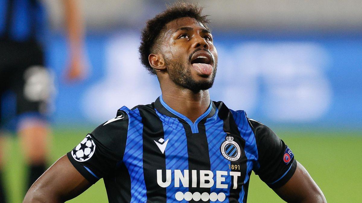 Club Brugge forward Emmanuel Dennis