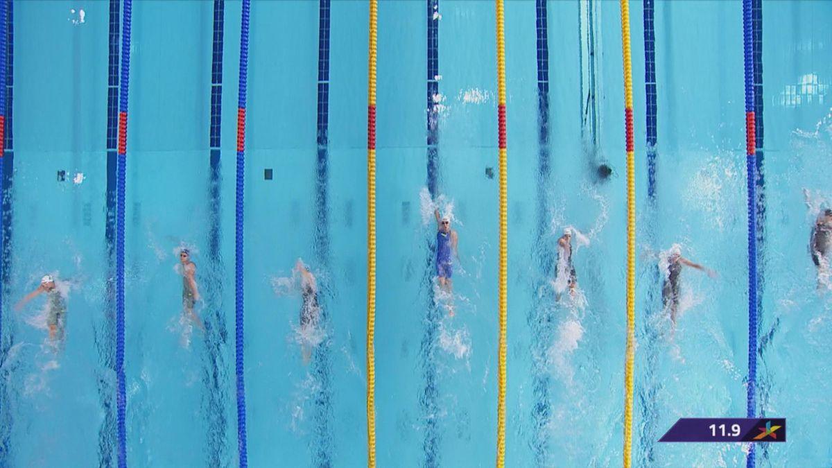 European championship : final 100m backstroke women