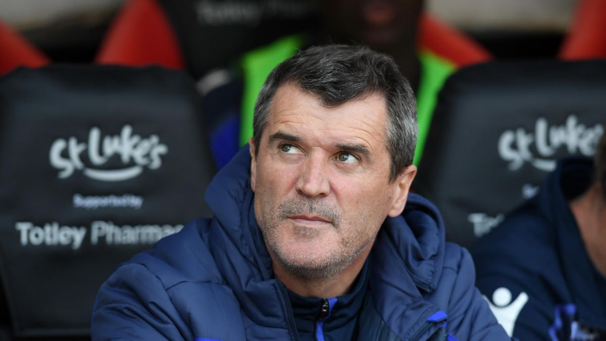 Roy Keane, Assistant Manager of Nottingham Forest looks on prior to the Sky Bet Championship match between Sheffield United and Nottingham Forest at Bramall Lane on April 19, 2019 in Sheffield, England.