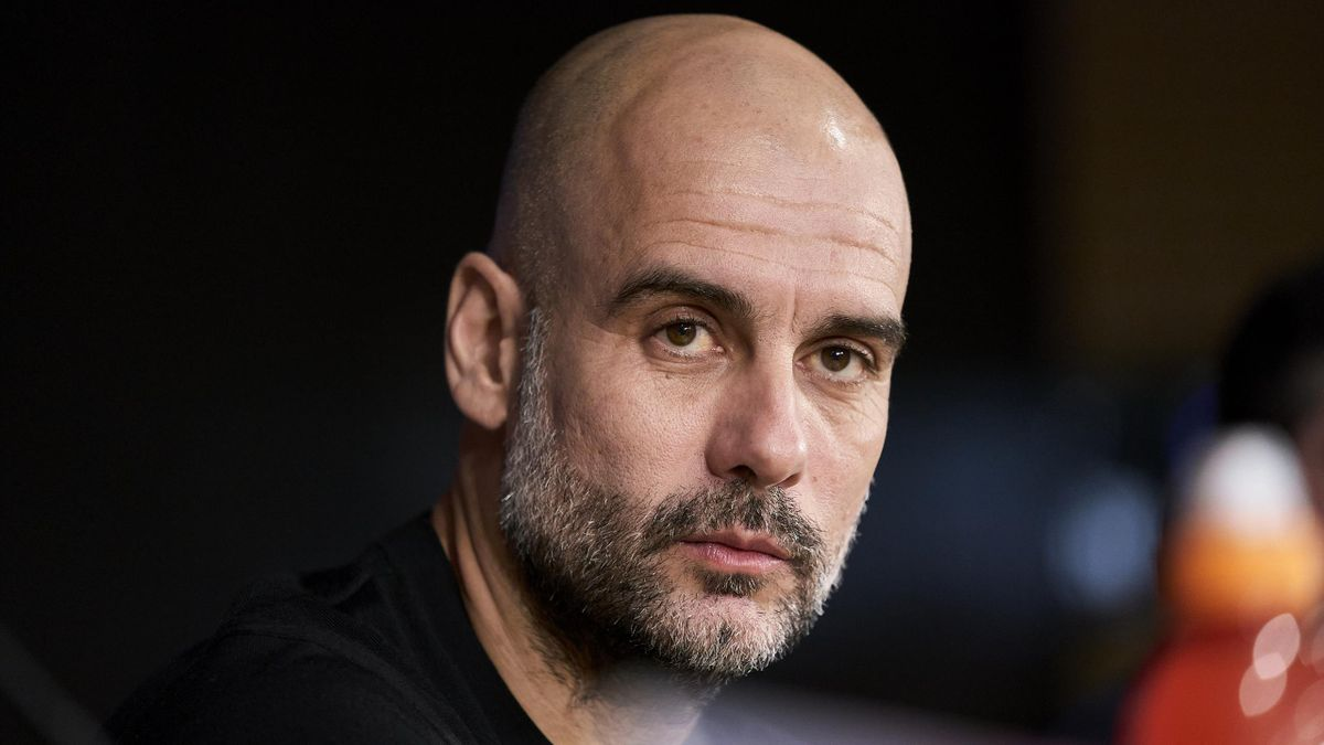 Pep Guardiola, manager Manchester City