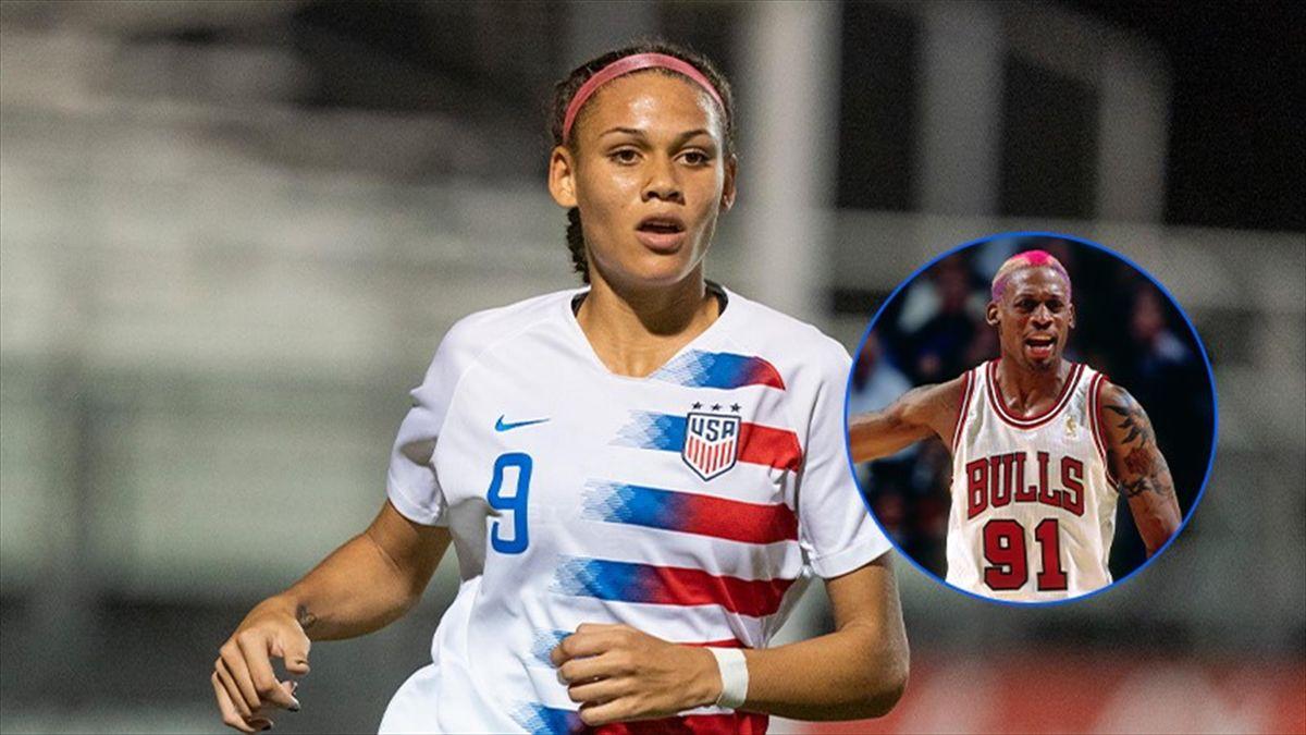Washington Spirit sceglie Trinity Rodman, figlia di Dennis