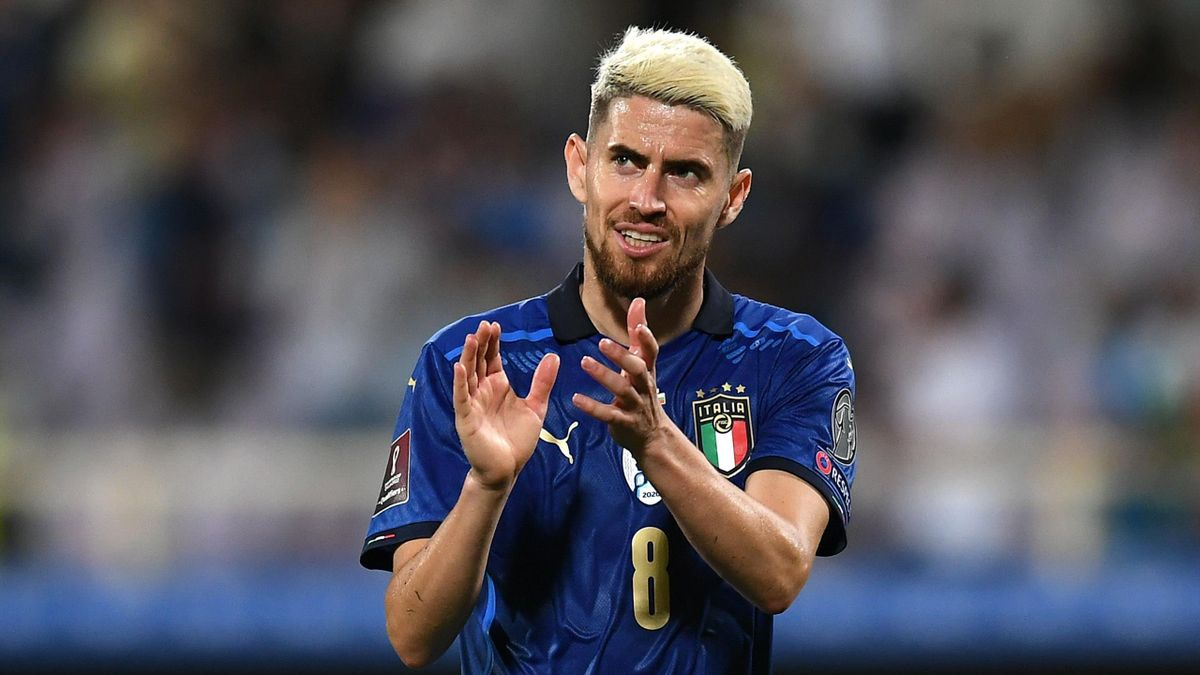 Italia-Bulgaria, 2 settembre 2021, Qualificazioni Mondiali 2022: Jorginho (Getty Images)