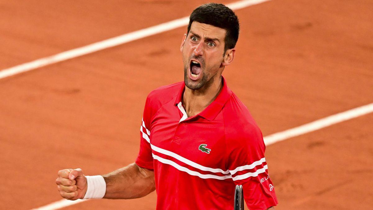 Novak Djokovic a tout lâché vocalement après sa victoire contre Berrettini.