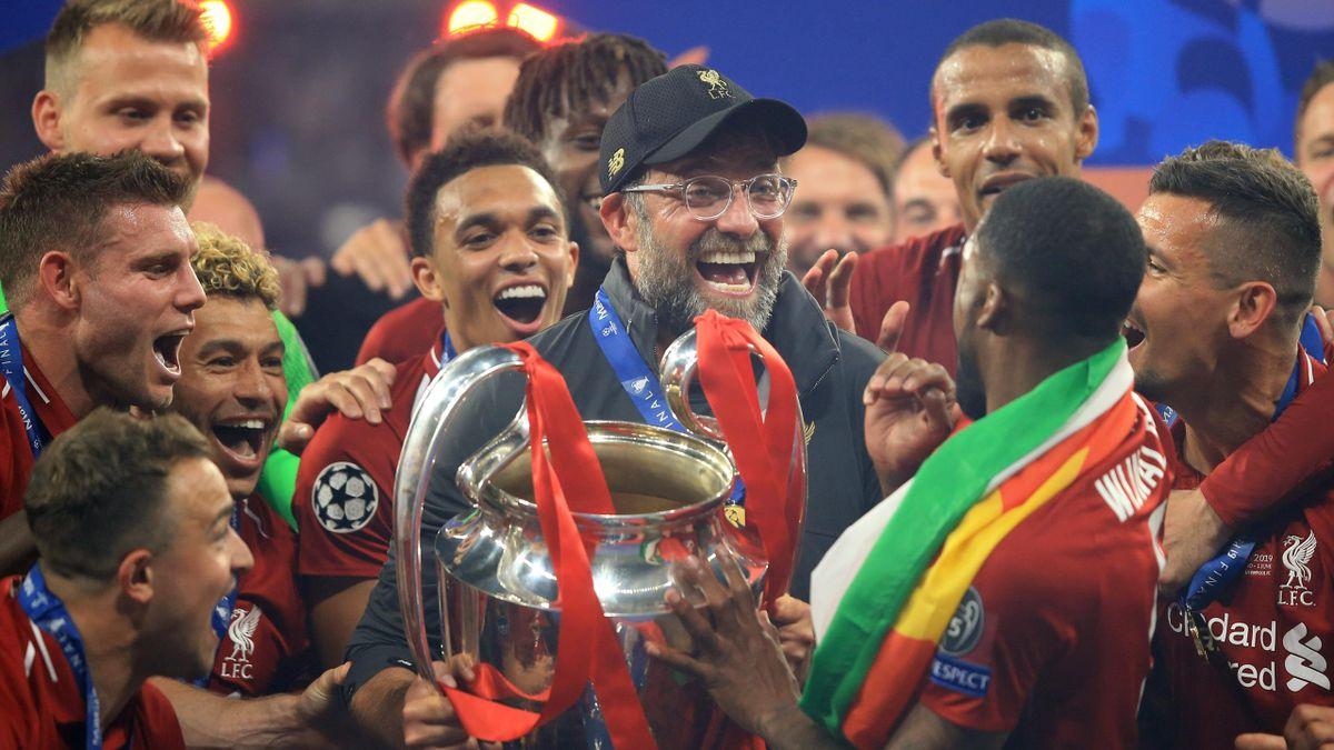 După trofeul Champions League, Klopp a cucerit și titlul în Anglia