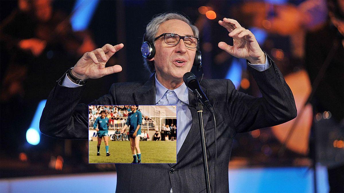 Franco Battiato e la sua esperienza da calciatore