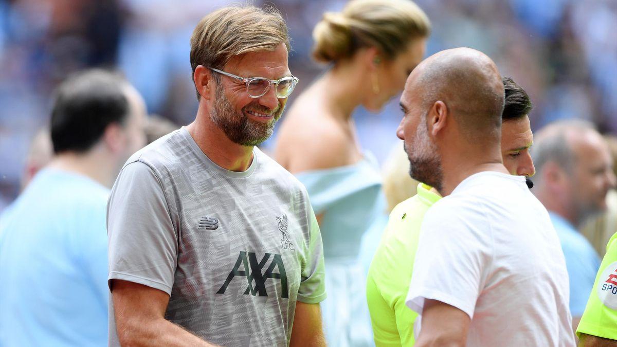 Jürgen Klopp și Pep Guardiola, probabil cei mai buni doi antrenori din lume