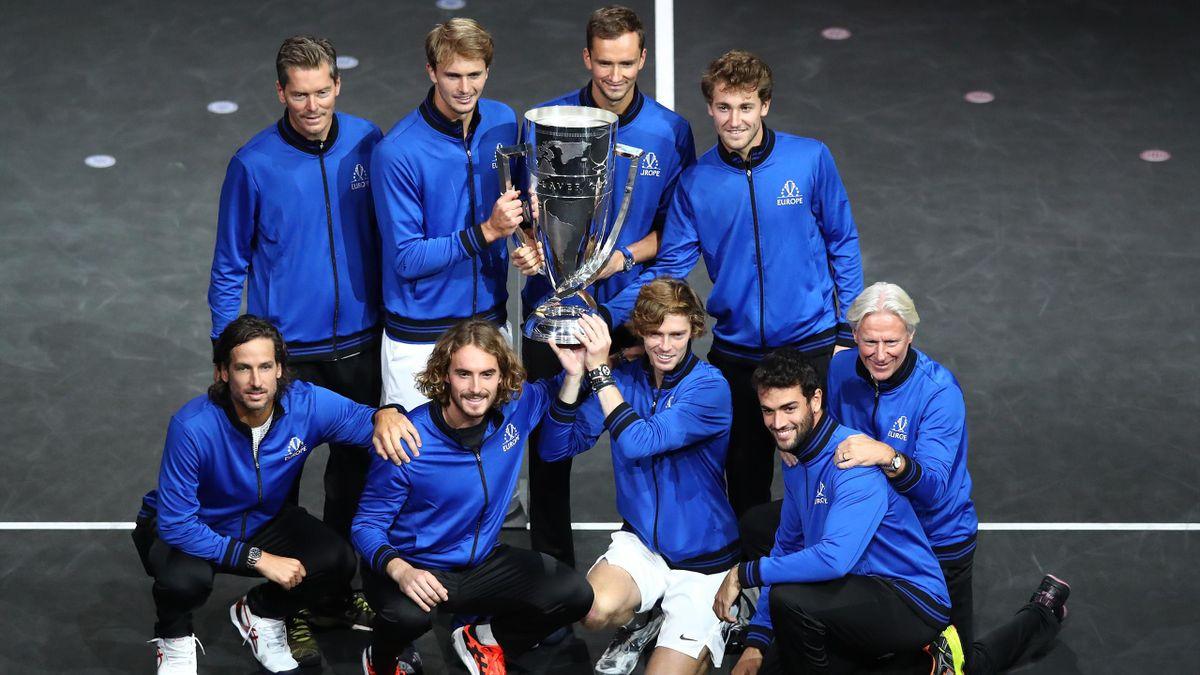 Сборная Европы – победители Кубка Лэйвера