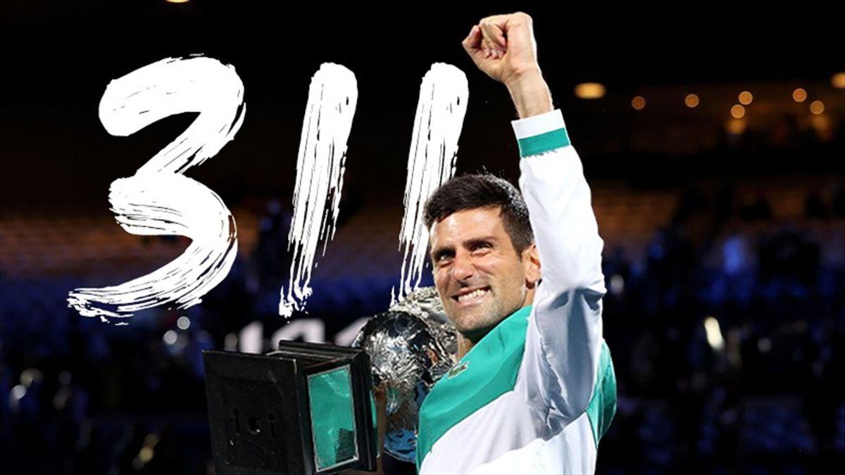 Djokovic, 311 settimane da numero 1 al mondo: superato Federer