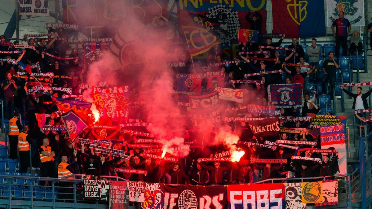 Фанаты «Базеля»